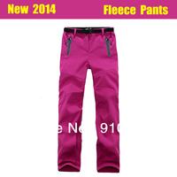 Fashion new 2014 Women sportswear Style Outdoor climbing hiking Waterproof Pants overall Trousers sweatpants female slacks