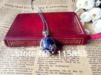 1PC Vampire Diaries Katherine Anti-sunlight  Lapis Lazuli Necklace/Pendent in gift box