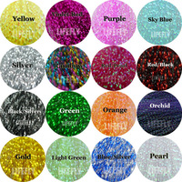 16 Colors, 16 Packs Crystal Flash, Krystal Flash, Fly Tying Material, Jig,  Lure Making Material, Fishing