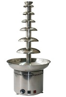 7layer stainless steel commercial chocolate fountain machine