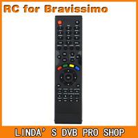 1pc Remote Control of Azbox bravissimo Twin tuner Nagra 3 decoder free shipping!
