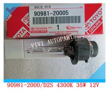 Car HID Headlight Xenon Bulbs OEM 90981-20005 D2S 12V 4300K 35W For Lexus RX400H RX350 RX330 ES300 SC430(China (Mainland))