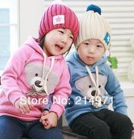 hot sale ! free shipping!! 1pcs/lot baby /Toddler /kids bear Sweater/ coat Sweater/Girls Hoodies kids hoodies fashion hoodies