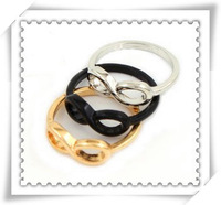 Min order is $10 ( mix order )  Fashion jewelry Infinity symbol finger ring mix color wholesale R495