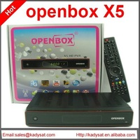 40pcs/lot Original Openbox X5 satellite receiver Support Youtube,CCcam,Newcamd,MGcam free shipping!!!
