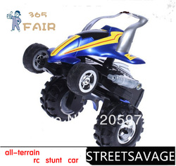 STREETSAVAGE all-terrain RC stunt car can walk upright and rotate 360 degree(China (Mainland))