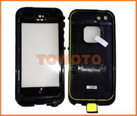 TPU Material Waterproof case for iphone 5, Waterproof phone case, Retail box package Free shipping
