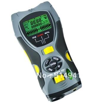 Multifunction 5in1 Digital Distance Meter Stud/Joists Metal Wire Detector Laser Marker Tool SK109A