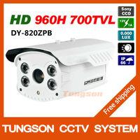 High Resolution Sony 960H CCD Effio 700TVL Outdoor Waterproof Video Surveillance 4*Array IR Night Vision Security CCTV Camera