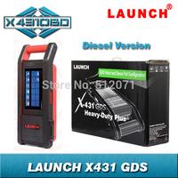 Original LAUNCH X431 GDS Diesel Diagnostic configuration Heavy Duty Diagnosis Online update Multi-functional WIFI X-431 GDS