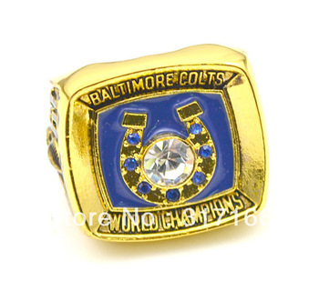 Free shipping excellent design replica 1970 Baltimore colts super bowl sports championship rings(R108009)