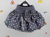 4pcs/lot 2013  new arrive baby children skirt,girl clothes ,Bow skirt, the princess skirt ,0.7 kg