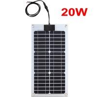 UK STOCK,20W monocrystal semi flexible solar panel, wholesale,factory directly