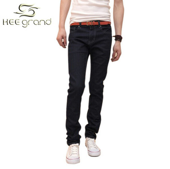 Free Shipping, We Best 2013 new men's Slim stretch jeans denim trousers  straight casual jeans, plus size,Drop Shipping, MKN002