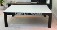 Free Shipping Asian furniture stores reversible table top black/white folding heated kotatsu Korean floor table