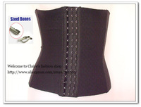 Hot shapers Firm Tummy Control Magic Body shaper Waist Cincher Steel Boned Sexy Corset Waist Trimmer Underbust Waist Shaper Belt