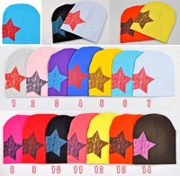 Wholesale,10pcs/lot,KD-001-069,Winter five star set of head cap/children's hat/Baby Hats & Caps