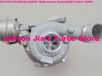 NEW GT15/761433-5003S A6640900880 Turbocharger for SSANG YONG Actyon Kyron,engine:D20DT 2.0LD 140HP 06-