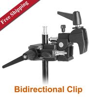 Studio Multi-function clamp Bidirectional Universal Clip Flash Bracket Photography Accessories Clamp