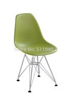 EMS shipping, 1 piece ABS seat steel leg  kids DSR Eames chair