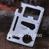 10pcs/lot Outdoor Survival Multi Fuctional Knife & Survival Knife & Multipurpose Pocket Tool Card Knives CK003