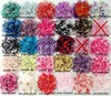 NEW 3.75&quot; chiffon lace flower 120PCS (70 colors for selcetion) free shipping(China (Mainland))
