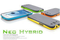 Best seller Bumblebee SGP NEO  HYBRID Case for Samsung Galaxy S3 SIII i9300,, Free china/HK post, S001