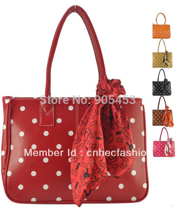 7 цвет HEC женщины сумку 2015 сладкий горошек на молнии ...