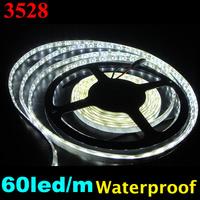 Big Promotion! 3528 300led 5M LED Strip Flexible light 60led/m outdoor waterproof DHL SHIPPING