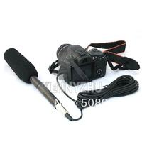 Shotgun Interview Condenser Uni-Directional Camera Camcorder Microphone Mic 3.5mm Plug for DSLR Canon 550D 7D 5D II Nikon D90