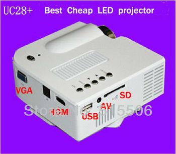 UC28 Update HDMI projector ! Cheapest 40lumens mini HD led home ...