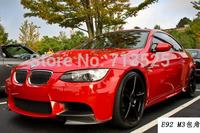 for BMW M3 Sedan Coupe Convirtible  E90  E92  E93 M3  splitter front spoiler bumper lip CFRP carbon fiber  reinforced polymer