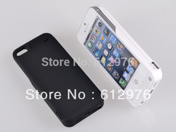 High capacity 4200mah Backup Power External Battery Charger case for iphone 5 5g Free shipping(China (Mainland))