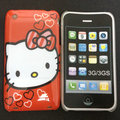 Free   shipping 1pcs  cartoon hello kitty  case  For iPhone 3G 3GS  2013   lowest price