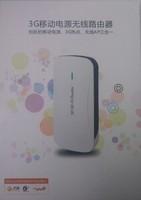 top sale Mini 5 in 1 3G Wireless WiFi USB Broadband Hotspot Router & 1800mAh Power Bank Portable Free shipping