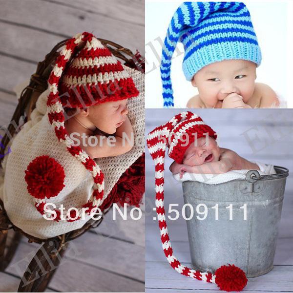 Вязанная шапка для новорожденного своими руками 3
