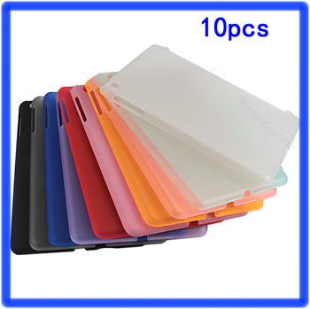 10pcs/lot Transparent TPU Matte Back Case Skin Smart Cover Protector for Apple i Pad Mini multi-color