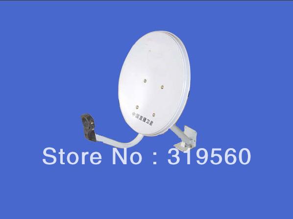 KU band satellite antenna/ satellite dish 35CM/ steel panel/ wall mount K-35-III(China (Mainland))
