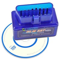 New Arrival V1.5 OBD2 OBD-II Mini ELM327 Bluetooth CAN-BUS Auto Diagnostic Tool  6057