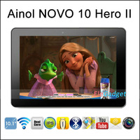 In Stock !10.1&quot; Aino Hero II Ainol Novo 10 Hero II 1280x800 IPS Quad Core Android 4.1 1GB/16GB Bluetooth