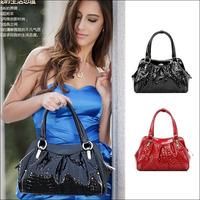 2014 New Genuine Leather Cowhide Women's Handbag Shoulder Bag Lady Handbags Women Messenger Bag Free Shipping NO089 Freeshipping