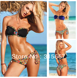 2013 new Brand Swimwear Bikini Sexy,free shipping women floral swimwear ,bathing suit ,sexy Swimsuit HFSMV1328 presale(China (Mainland))