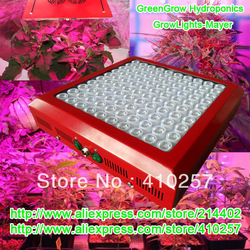 New 9Band Led Grow Light 300W with 100pcs 3W leds,built with optical lens,best for Medicinal plants growth and flowering(China (Mainland))