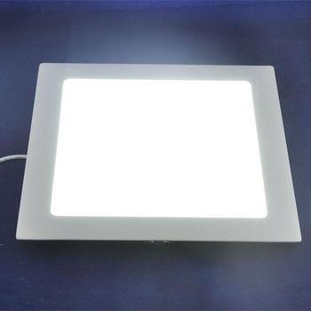 AC85-265V Warm white & White Color Optional 1400LM High Power 18W SMD2835 LED Panel Light Mini Ceiling Lamp, Square Shape