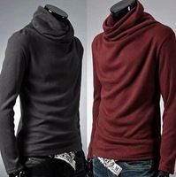 High quality sweater men  turtleneck sweater pullover men  free  shipping