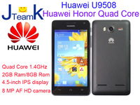 Huawei  Honor 2 U9508 quad core 1.4GHz 2GB Rom 4.5 Inch IPS 1280*720pix 2230mA/h 800MP Camera Support russian language