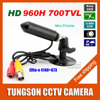 Specialty Genuine Sony 960H CCD Effio 700TVL 0.001LUX Small Pinhole Hidden Video Surveillance Bullet Mini CCTV Camera Security