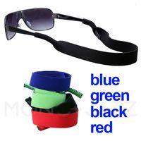 50 X Glasses Neoprene Neck Strap Retainer Cord/Chain/Lanyard String For Sunglasses Eyeglasses 5 Colors Black/Blue/Red/Green/Pink