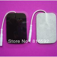 100pcs Free shipping by HongKong post air mail Premium tens reusable adhesive electrode pad for muscle stimu