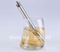 Filter Tea Balls Stainless Steel Tea Strainers Oblique Tea Stick Tube Ceremony Infuser Steeper